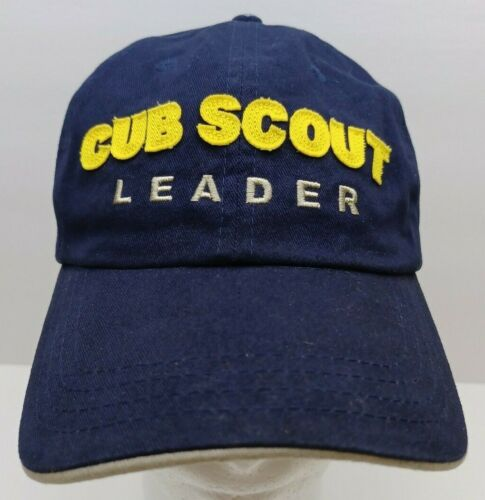 Cub Scout Leader Baseball Cap Hat 100% Cotton Boy Scouts of America Patch