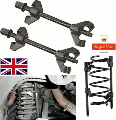 Coil Spring Compressor Pair of  Suspension Clamps 2x380mm Heavy Duty Strut CS005