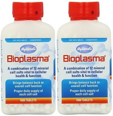 Hylands Homeopathic 2 Pack Hylands Bioplasma Combination ...