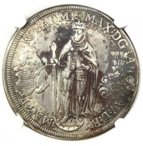 1613/2 Germany Teutonic Order Taler Coin - Certified NGC XF Details (EF)