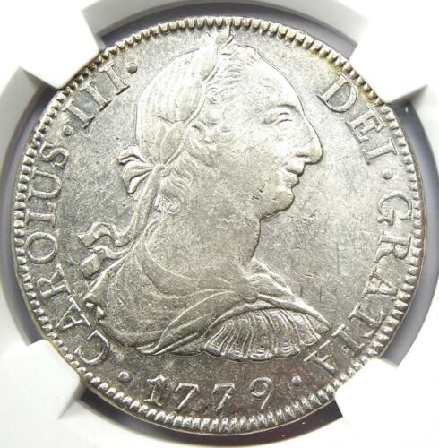 1779-MO FF Mexico Charles III 8 Reales Coin (8R) - Certified NGC AU Details