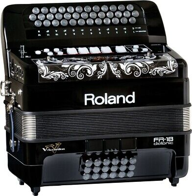 Roland V Accordion FR-18 Acordeon Midi