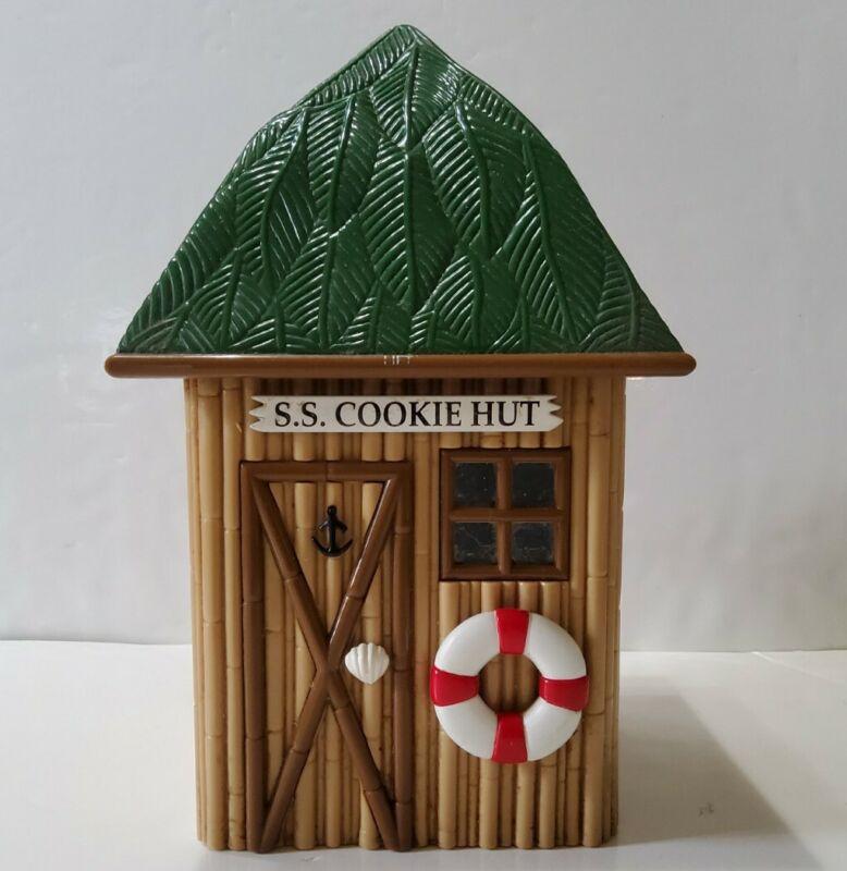 Original SS Cookie Hut Gilligan's Island Musical Cookie Jar 1992 Working
