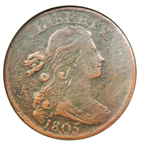 1805 Draped Bust Large Cent 1C S-267 - ANACS VF30 Details - Rare Early Penny