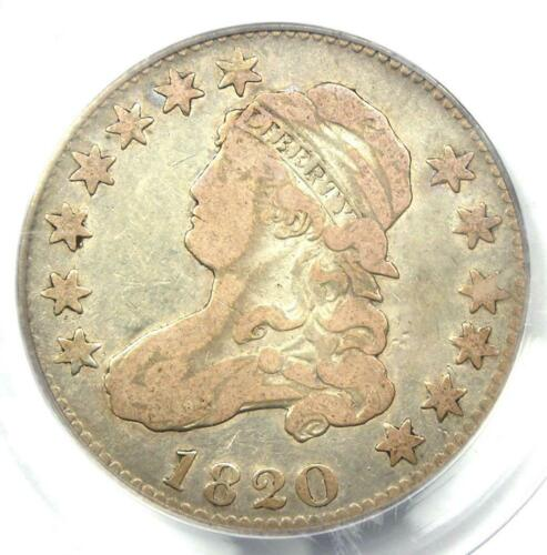 1820 Capped Bust Quarter 25C - PCGS F15 - Rare Early Date Coin - $425 Value!