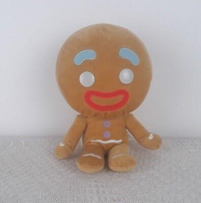 Big Headz Gingerbread Man From Shrek Plush Soft Toy Disney Christmas Gift - Gingerbread Man From Shrek