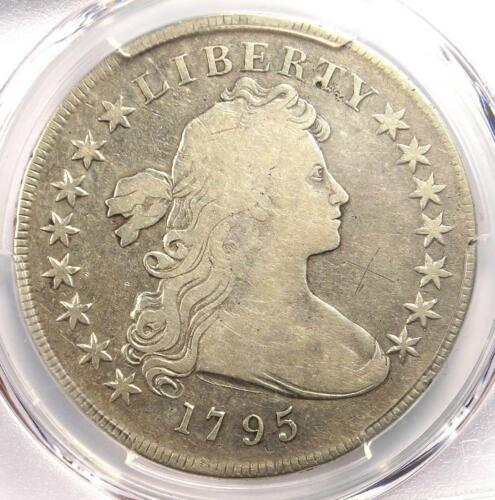 1795 Draped Bust Silver Dollar ($1 Coin, Small Eagle) - PCGS Fine Detail