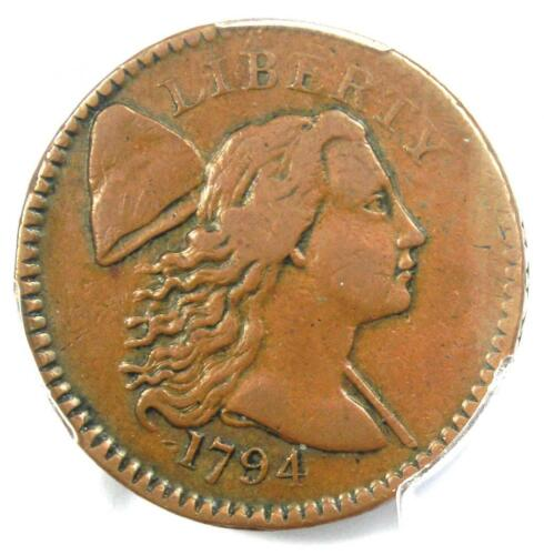 1794 Liberty Cap Large Cent 1C Coin - Certified PCGS VF35 - $3,300 Value!
