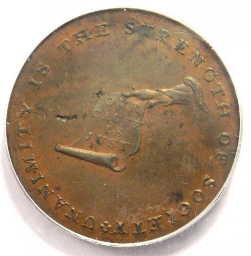 1792 Kentucky Lancaster Cent 1C - Certified PCGS MS62 (BU UNC) - $750 Value!