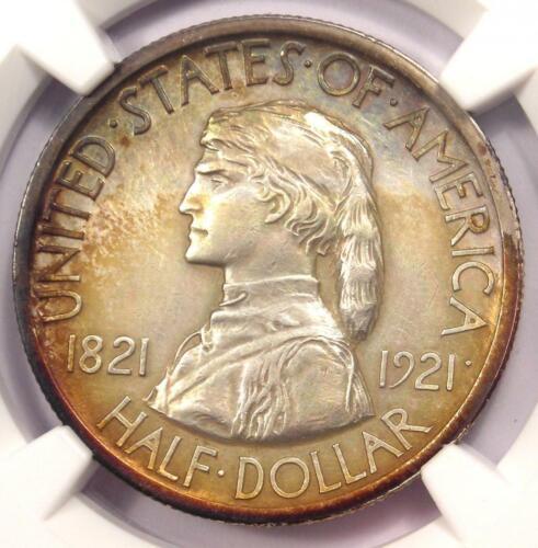 1921 Missouri Half Dollar 50C Coin - NGC Uncirculated Details (UNC MS BU)!
