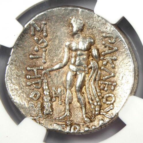 Ancient Celts Lower Danube Thasos AR Tetradrachm Coin (100 BC) - NGC Choice VF