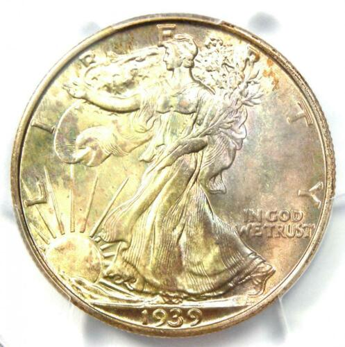 1939-S Walking Liberty Half Dollar 50C Coin - Certified PCGS MS67 - $1,250 Value