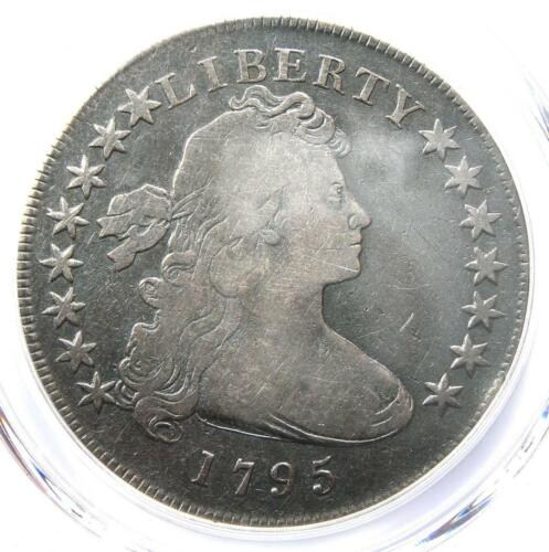 1795 Draped Bust Silver Dollar ($1 Coin, Small Eagle) - Certified PCGS VG Detail