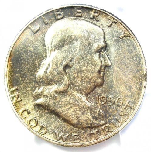 1956 Franklin Half Dollar 50C - PCGS MS66+ FBL FL Plus Grade - $320 Value!