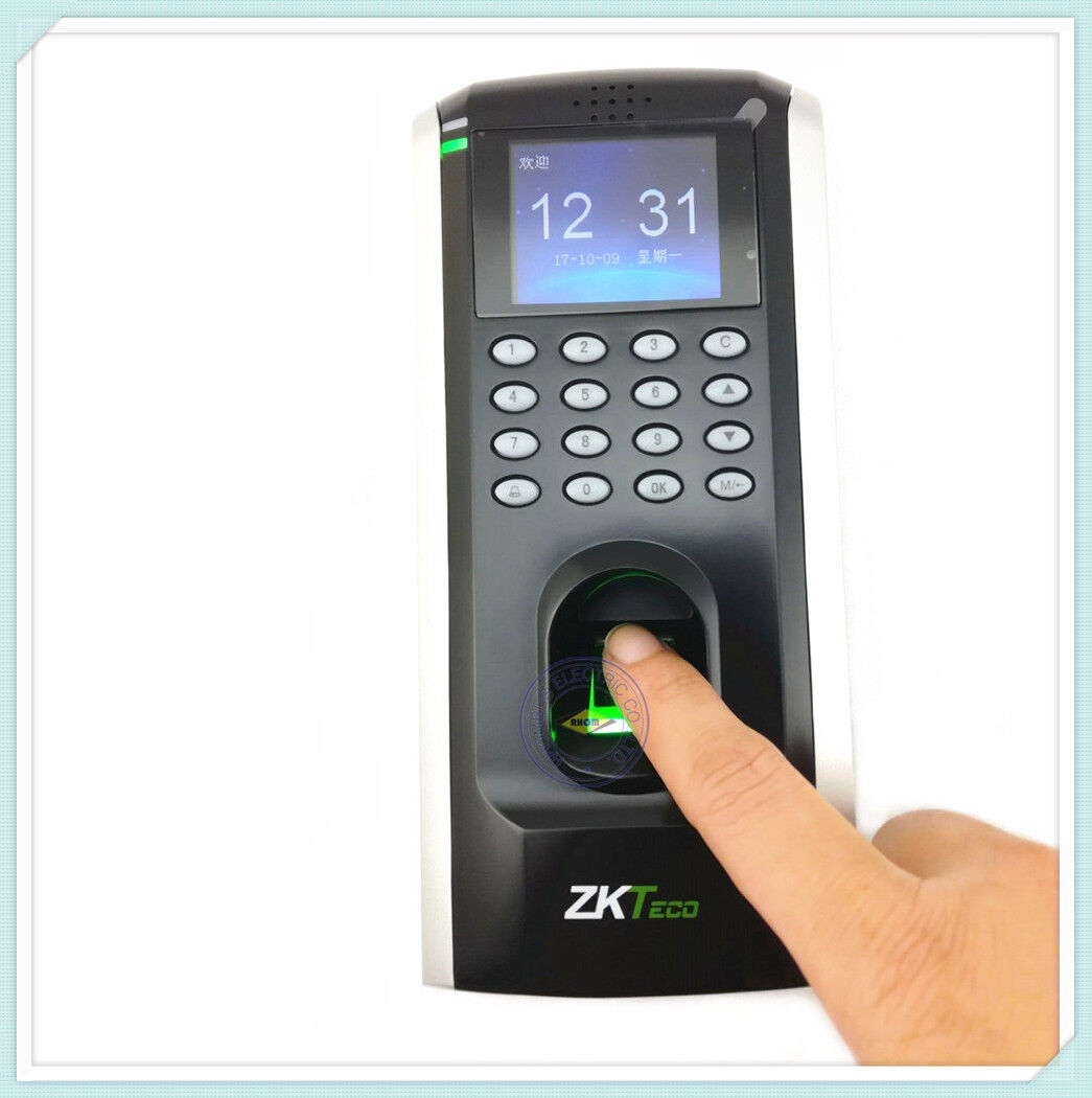 ZK F7 TCP//IP RS485 Keypad pincode fingerprint Time attendance Access Controller//fingerprint access control