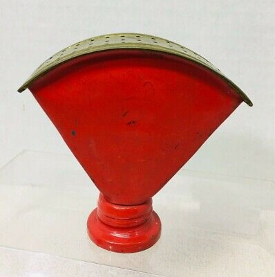 Antique Brass and Red Metal Sprinkle Can Spout T10
