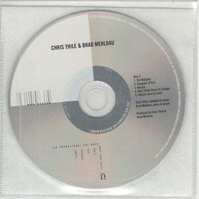 Chris Thile & Brad Mehldau: Untitled, 11 Track Two Adv. CD (Chris Thile Chris Thile & Brad Mehldau)