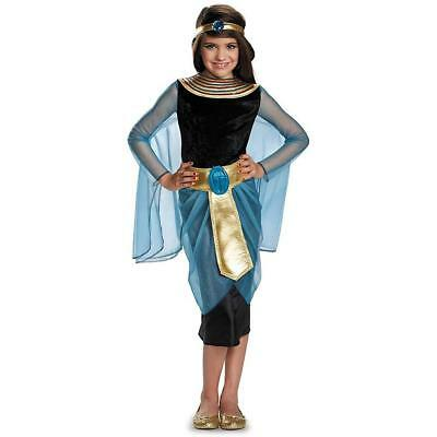 Cleopatra Egyptian Queen Nile Goddess Fancy Dress Up Halloween Child Costume