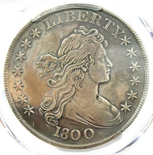 1800 Draped Bust Silver Dollar $1 Coin AMERICAI - PCGS VF Details - Near XF!