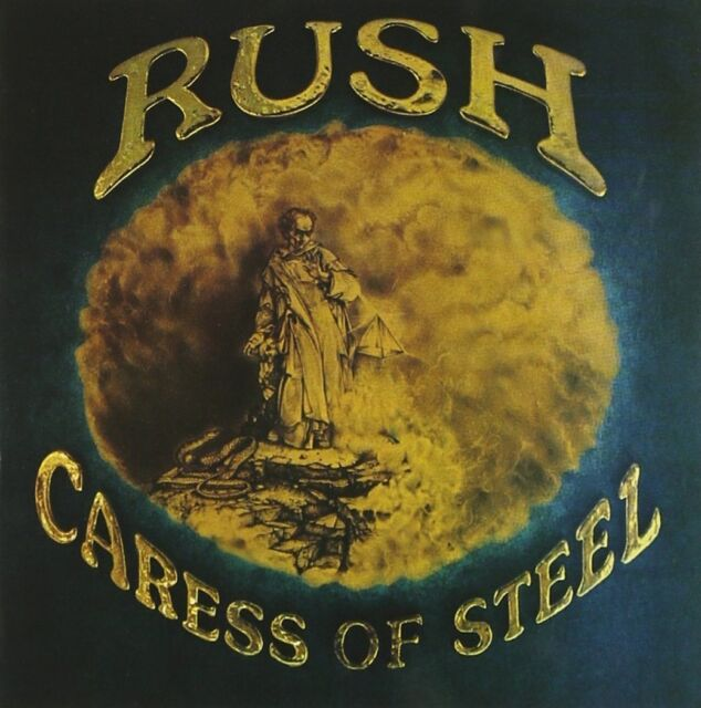 Rush Caress Of Steel CD NEW SEALED Remastered