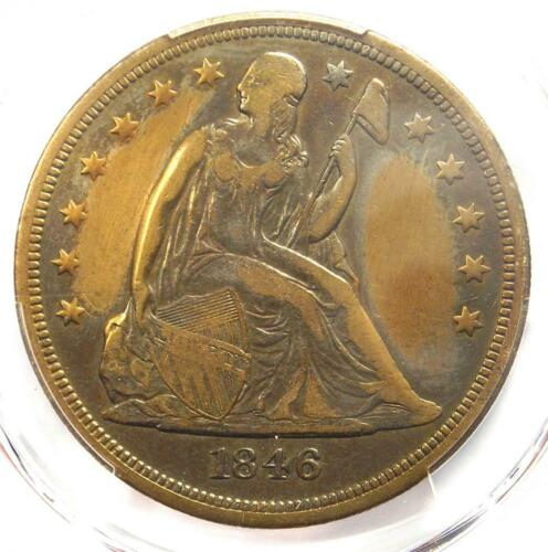 1846-O Seated Liberty Silver Dollar $1 - PCGS VF Details - Rare Date Coin!