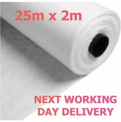 Geotextile Membrane Soakaway Crates and Weed Membrane 25m x 2m NEXT WORKING DAY