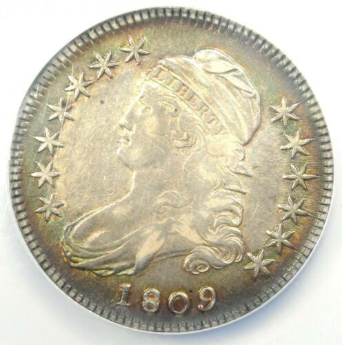 1809 Capped Bust Half Dollar 50C O-115 - NGC XF Details (EF) - Rare Date!