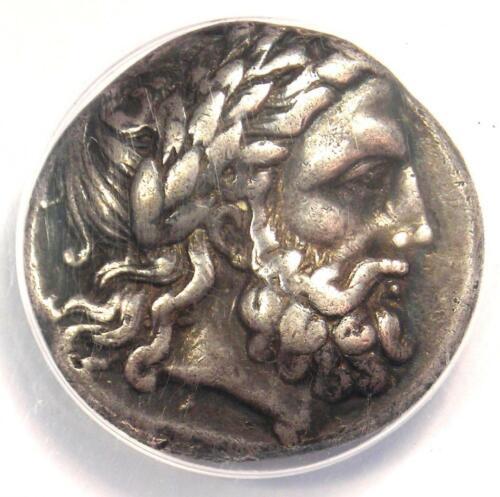 Ancient Macedon Philip II AR Tetradrachm Coin 336-328 BC - Certified ANACS VF35