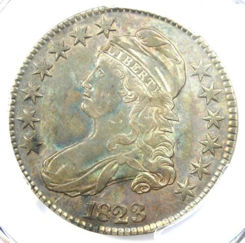 1823 Capped Bust Half Dollar 50C - PCGS XF Details (EF) - Rare Certified Coin!