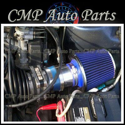Blue 1994-1996 Chevy Beretta Corsica Z26 3.1 3.1l V6 Air Intake Kit Systems