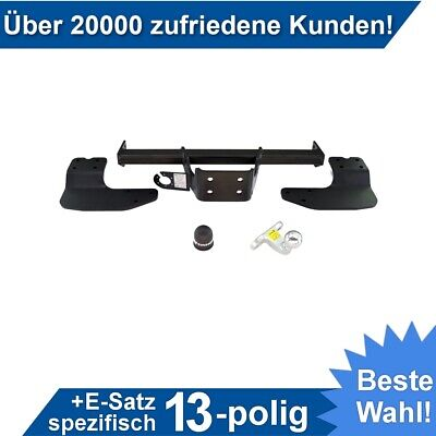Für Ford Transit Custom Kasten/Minibus 12-16 Anhängerkupplung starr+ES 13sp. AHK - Es Mini-anhänger