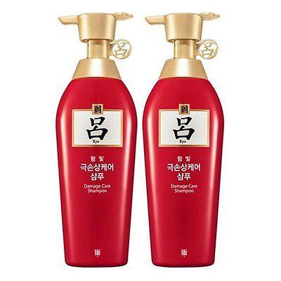 2 Pcs Ryo Hambit Damage Total Care Ginseng Shampoo 400ml Hair Scalp Amore Ryoe