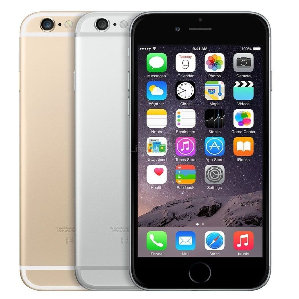 apple iphone 6 plus 6 128gb factory unlocked smartphone rose gold gray silver cad. Black Bedroom Furniture Sets. Home Design Ideas