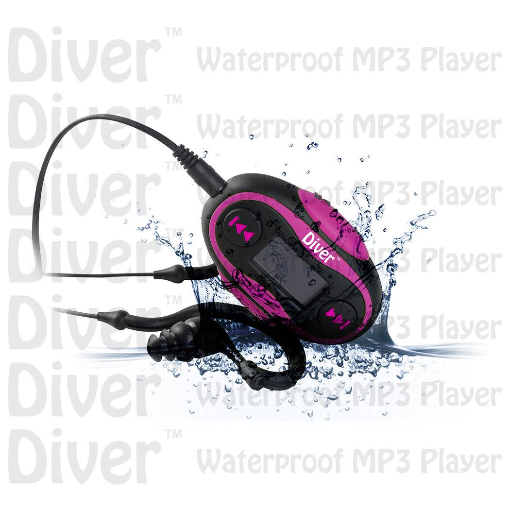 Waterproof Mp3 Player. Lcd. Swim. Fm Radio. With Headphon...