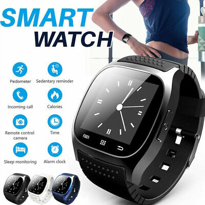 Bluetooth Wrist Smart Watch Phone Mate For Android Samsung/iPhone iOS Waterproof