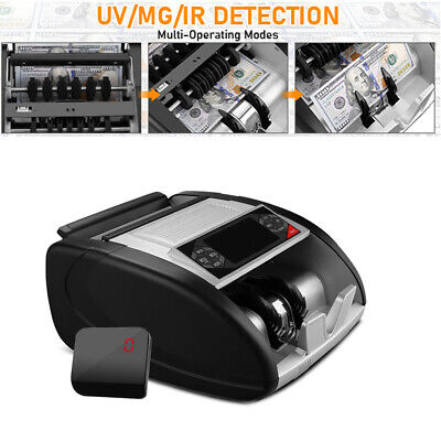 New Money Counter Cash Detector Machine Led Display Bill Counting