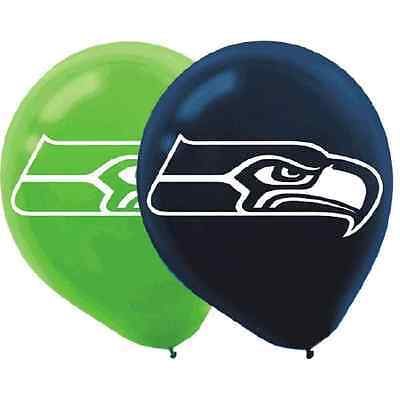 Balloons Seattle (Seattle Seahawks NFL Football Sports Banquet Party Decoration Latex)