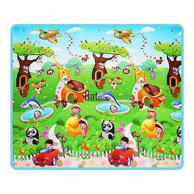 Baby Kid Toddler Foam Floor Activity Play Mat Baby Gyms Game Crawl Picnic Carpet