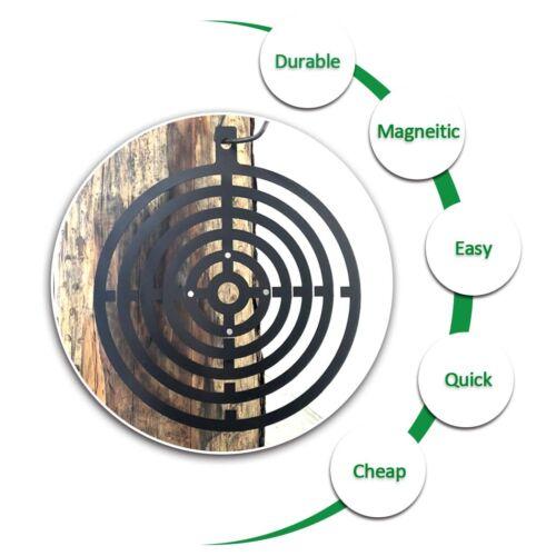 "4/"" Magnetic Painting Stencil for Steel TargetsShootingTargets7"