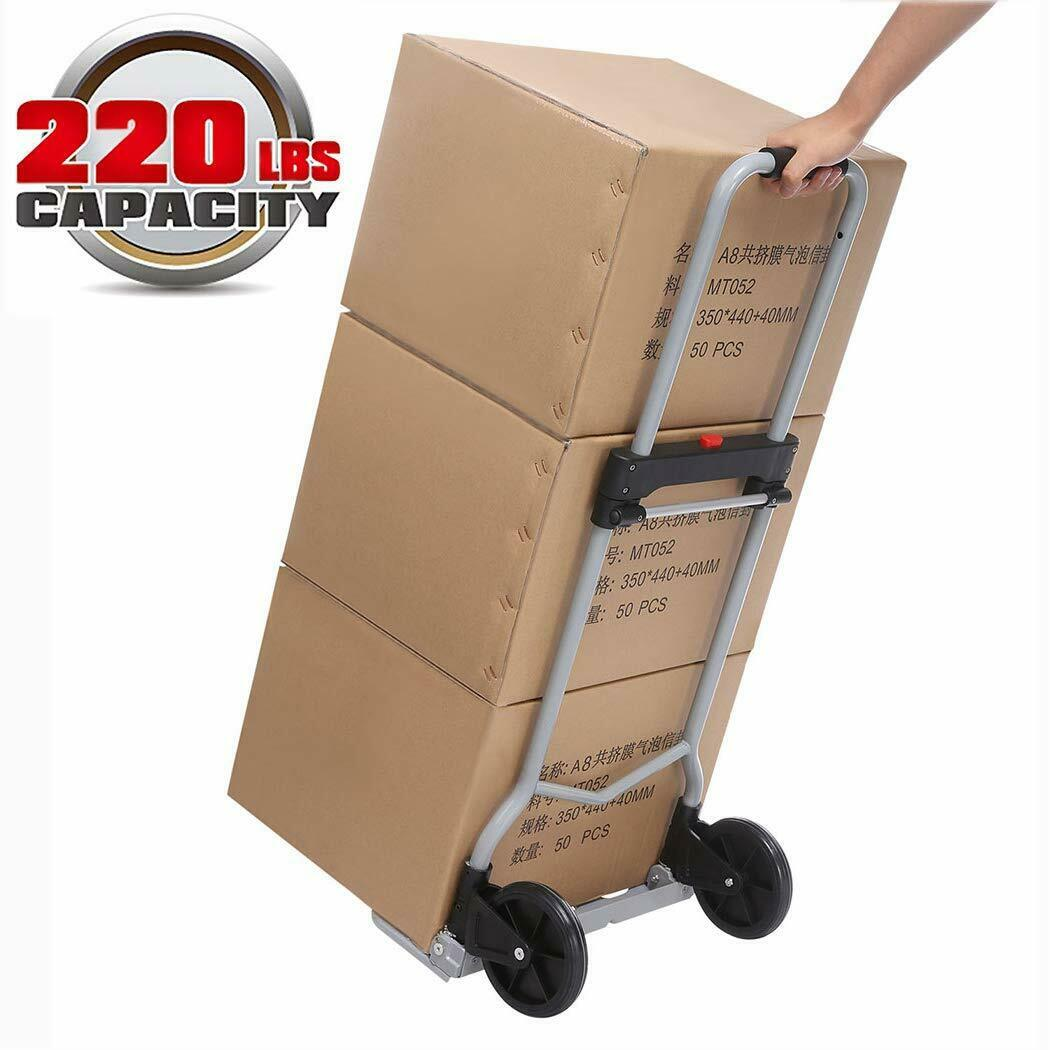 Lightweight Folding Hand Truck Portable Luggage Trolley Cart