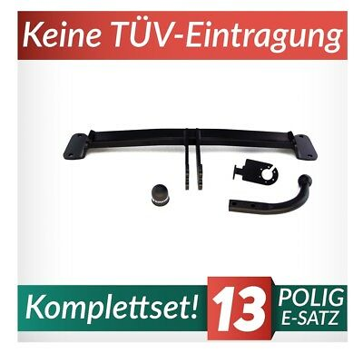 7pol spez E-Satz Anhängekupplung BMW F11 Touring Kombi 2010-2014 abnehmbar