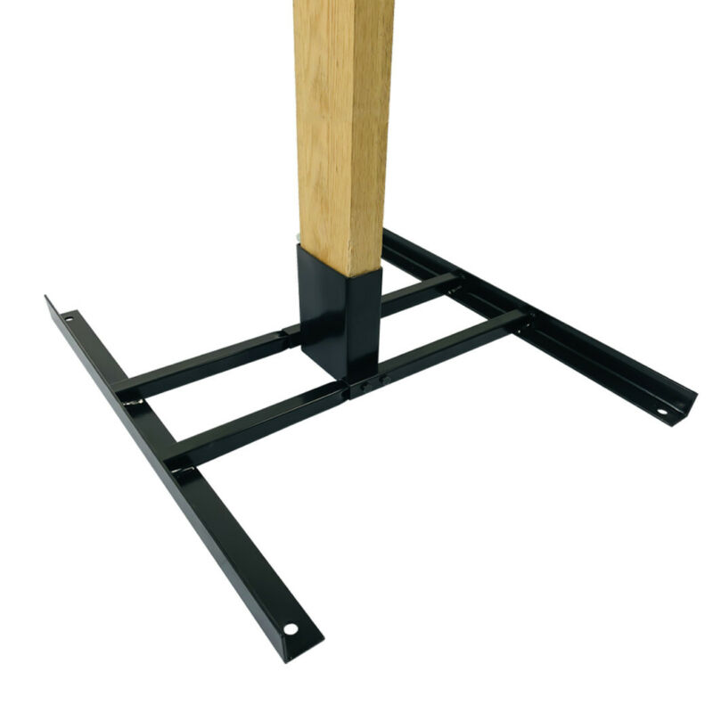 Highwild 2x4 Target Stand Base for AR500 Steel Shooting Targets Double T-Shaped