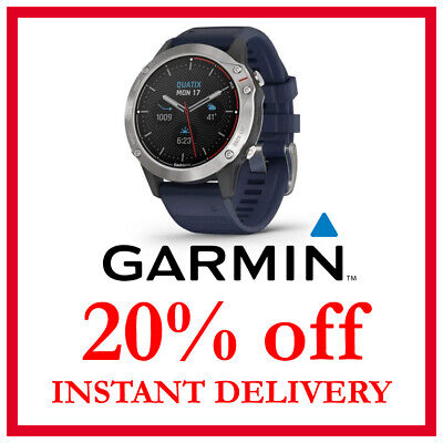 Garmin Quatix 6, Quatix 6 Sapphire Watch 20% DISCOUNT (NO WATCH, READ BELOW)