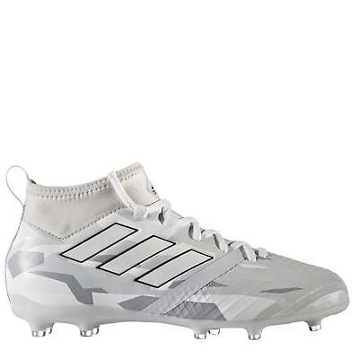 adidas ACE 17.1 FG Junior Socken Fußballschuhe Camouflage Pack grau/weiß BB0988 (Weiße Adidas Fußball Socken)
