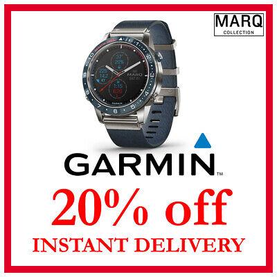 Garmin MARQ Captain DISCOUNT 20% OFF (NO WATCH, READ DESCRIPTION)