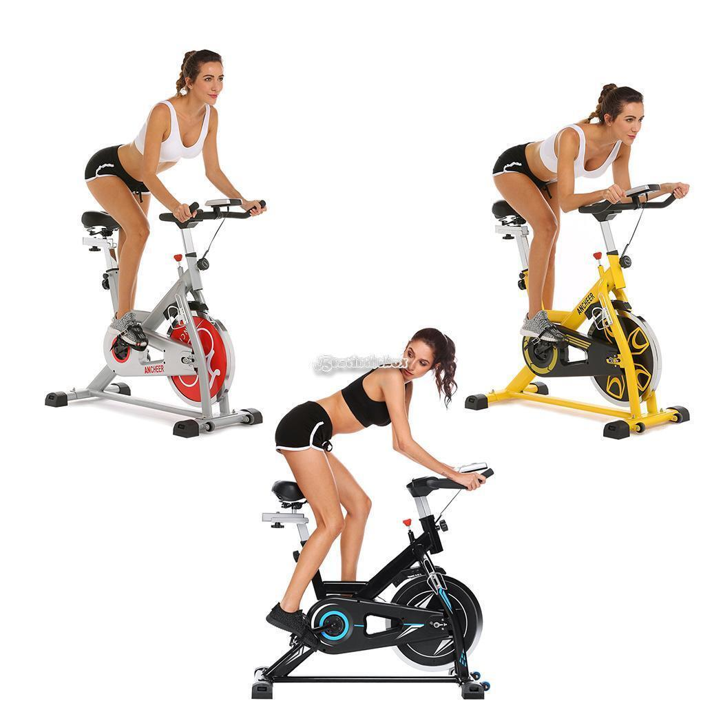 Ancheer Bike Fitness Belt Drive Cycle Stationary Exercise Ca