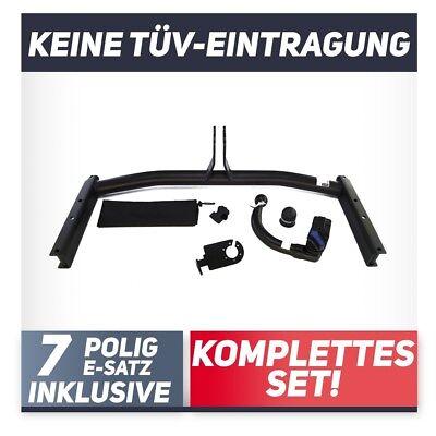 Audi A3 Sportback 8P 5-Tür 04-08 auch Quattro Anhängerkupplung abnehmbar+E-S 7p