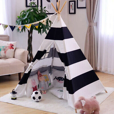 Teepee Play Tent for Kids Girl and Boy Durable Baby Toddler Tents Non-Slip Base