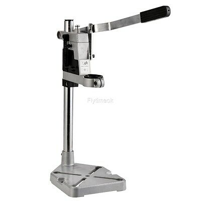 Clamp Power Drill Press Stand & Bench Pillar Pedestal for Drilling Collet & 43mm