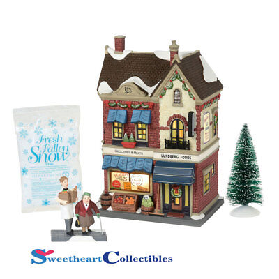 Dept 56 Christmas In The City 6000571 Lundberg Foods 2018